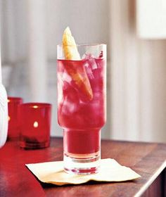 Mix up this hibiscus-tea refresher in just 5 minutes. | A gallery of cocktails, iced teas, lemonades, and other drinks to slake your thirst.