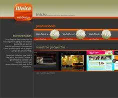 Diseño y desarrollo de website
