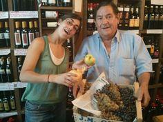 Ciriaco Yañez Cata de uvas, a ver, como van las últimas lluvias sobre nuestras vendimias