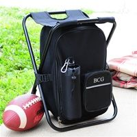 groomsmen gift Tailgate Backpack Cooler Chair