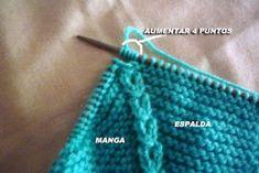 CONOCIENDO ARTESANAS: Como hacer un jersey para un nenuco, paso a paso Baby Knitting Patterns, Knitting For Kids, Crochet Baby, Knit Crochet, Baby Supplies, Baby Cardigan, Knitted Dolls, Baby Sweaters, Arm Warmers