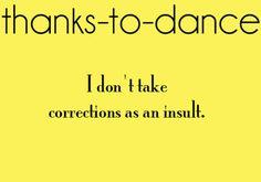 Thanks to gymnastics & Dance