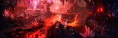 crystal cave concept art - Google 検索