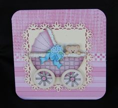 Step by Step Prams - Use with My Baby Wobble Cards by Carolyn Norris