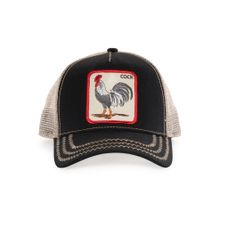 Shop one of a kind Animal Farm Trucker Cap Rooster with 2 in bill by Goorin Bros. Mens Trucker Hat, Black Rooster, Hat For Man, Cozy Fashion, Men Fashion, Hat Shop, Outfits With Hats, Snap Backs, Summer Hats