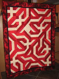 Wedding Signature Quilt by lisa_irwin22, via Flickr Wedding Quilts, Signature Quilts, Quilt Festival, Needle Book, Book Quilt, Pincushions, Quilt Sets, Lisa, Quilting