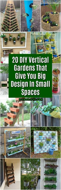 One of the biggest challenges that many of us face when decorating our outdoor living spaces is space. While you may want to plant an entire backyard full of lovely flowers and greenery, what if you just don't have the room? I would love nothing more than to fill my entire yard with gardens but...