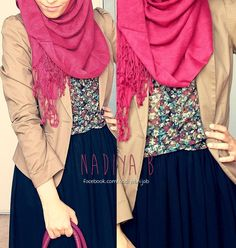 Great islamic look for work or school.