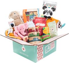The gift that keeps on giving: a Stork Stack subscription, with monthly boxes of the best products for baby and parent. @Stork Stack
