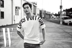Kim Soo-hyun is an ordinary man for the July issue of W Magazine, check it out! Source   W Magazine