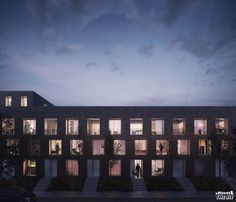 Housing in Lille, France, FRES Architectes, 2016