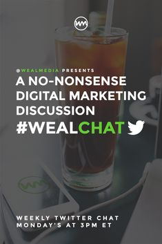 This weekly Twitter Chat brings together fellow business owners, social entrepreneurs and digital marketers of all kinds. Join Mondays at 3pm ET / 12pm PT under the hashtag #WealChat.