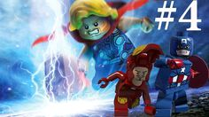 LEGO Games 2017- LEGO Marvel Avengers Part 4 LEGO Iron Man Captain Ameri...