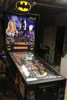 Batman Data East Pinball Machine For Sale 1991 Used #batmanpinball #batmandataeast