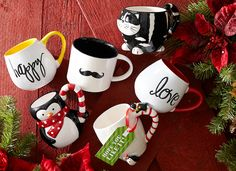 Mugs for him, for her, for co-workers, for you. #Christmas #Gifts