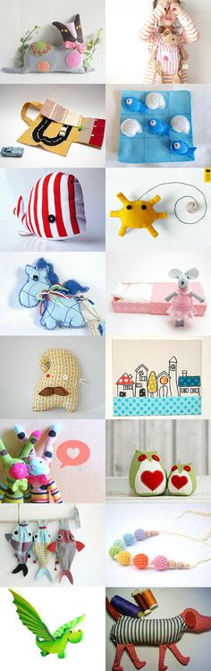 Just for kids.....but I love them too by Anna from ILoveCrochetByAnna on Etsy--Pinned with TreasuryPin.com