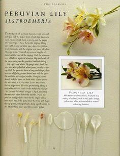 sugar flowers - ALSTROEMERIA - Álbumes web de Picasa