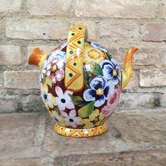 trufolo tipica brocca d'Abruzzo vintage Italian pottery