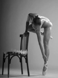 The body of a dancer