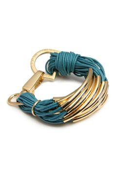 String Bracelet - Teal