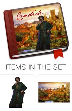 """Candide"" by sjlew ❤ liked on Polyvore featuring art"