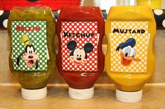 Mickey Mouse Birthday Party Hot Diggity Dog Bar