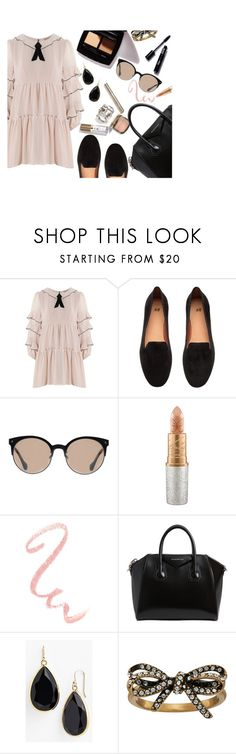 """""""Look #44"""" by madieblue2 ❤ liked on Polyvore featuring For Love & Lemons, Balenciaga, Mariah Carey, Givenchy, Kate Spade and Marc Jacobs"""