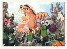 Kakashi's mask is off to drink the bottle and everyone is shocked looking at…
