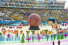 Inauguración Mundial Brasil 2014.