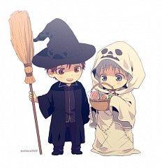 Halloween ^^ Kuroko and Kagami #KurokoNoBasket