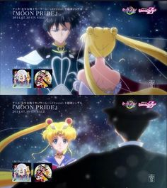 Sailor Moon Crystal-Moon Pride
