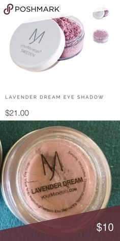 Your Minerals Lavender Dream The yourMinerals Sweden has Lavender Dreams which is a soft purple color. Your Minerals normally runs $21 just for one color. New and only opened for photos. MAC Cosmetics Makeup Eyeshadow