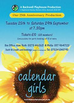 Calendar Girls Poster - September 2012