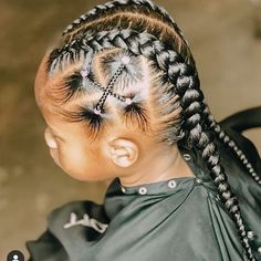 Lil Girl Hairstyles, Natural Hairstyles For Kids, Kids Braided Hairstyles, Box Braids Hairstyles, Teenage Hairstyles, Toddler Hairstyles, Prom Hairstyles, Hairdos, Pretty Hairstyles