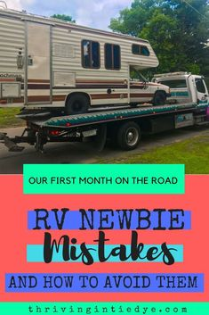 When we first hit the road full time in our RV - we made some huge mistakes! We had so many full time RV fails, it was hard to stay positive. Check out this guide for what we did wrong and how you can avoid making the same mistakes! Travel Hack, Time Travel, Budget Travel, Travel Tips, Rv Camping, Camping Hacks, Glamping, Rv Living, Frugal Living