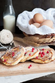 Farmers Cheese Pancakes - Syrniki