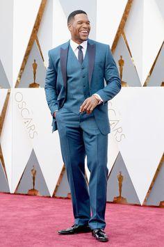 Michael Strahan aux Oscars 2016