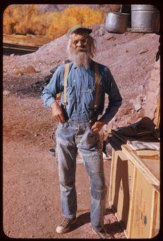 Jack W. Holley, Moab, Utah, 1952    Photograph by Charles Cushman