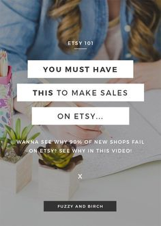 Products won't sell on Etsy? What does it take to make sales on Etsy? Learn how you can transform a silent storefront into a shop that starts to sell online. Craft Business, Creative Business, Business Tips, Business Planning, Business Marketing, Content Marketing, Internet Marketing, Media Marketing, Online Marketing