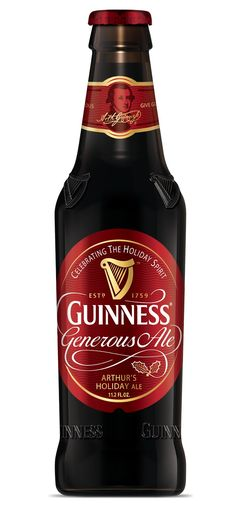 For the holidays ... Guinness Generous Holiday Ale.