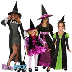 Cast a spell this Halloween with the latest Witch Costumes from Party Rock in Frisco