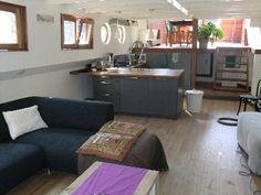 Hausboot im Stadtzentrum von Amsterdam. Platz für bis zu 6 Personen. Objekt-Nr. 975081