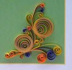 multicoloured 'cut eccentric coils',