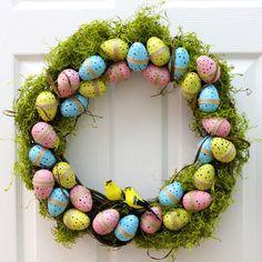 Spring Decor: DIY Easter Wreath   eHow