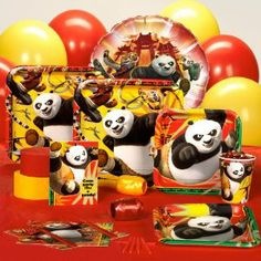 Kung fu panda theme party