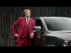 Ron Burgundy and Dodge Durango brilliant brand mashup. #brandstrategy