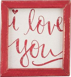 'I Love You' by Glory Haus Framed Textual Art
