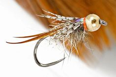 The most amazing fly fishing fun. The most amazing fly fishing fun. Nymph Fly Patterns, Fly Tying Patterns, Salmon Fishing, Trout Fishing, Fishing Lures, Fly Fishing Nymphs, Fly Tying Desk, Fly Tying Materials, Fly Fishing Tips