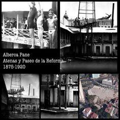 Alberca Pane 1875-1920 aprox Atenas y Paseo de la Reforma