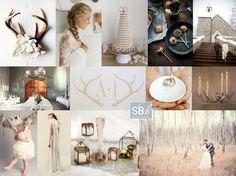 Nordic Nuptials - Scandinavian Wedding Inspiration Board